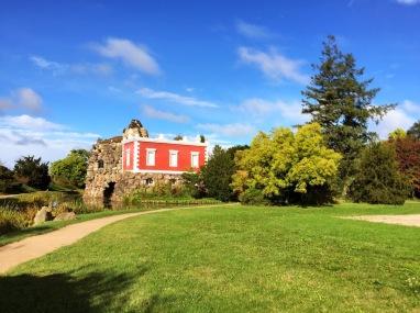 Villa Hamilton auf der Insel Stein
