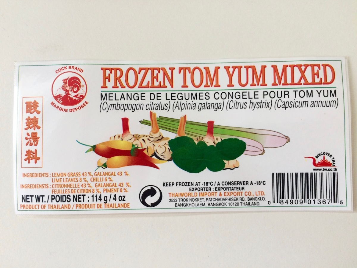 gefrorenes Tom Yum