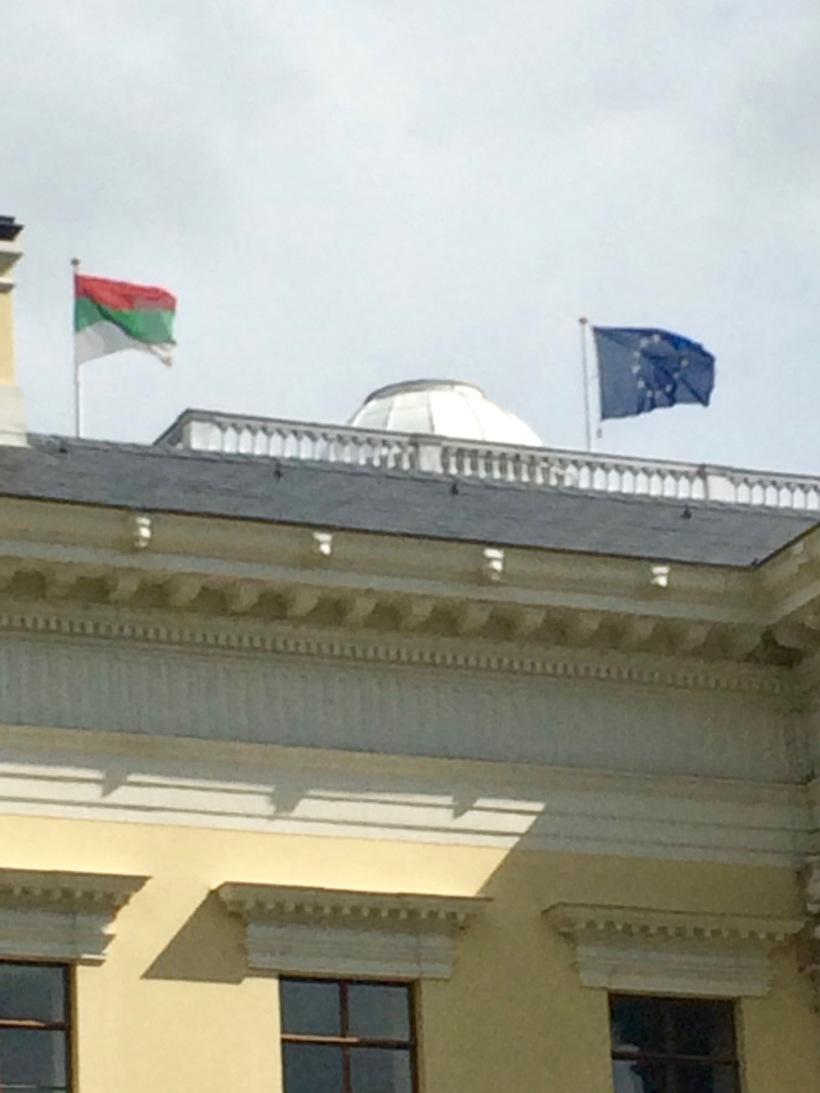 Flagge auf Schloss