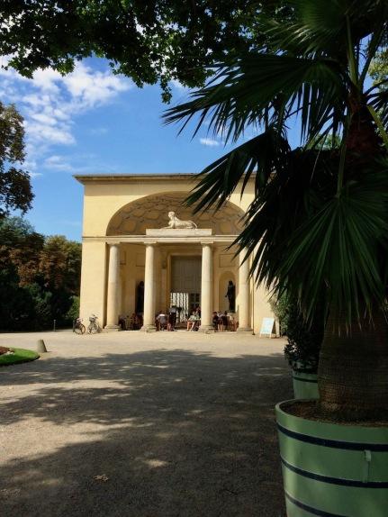 Café in Orangerie